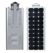 Luz de calle solar integrada 80w