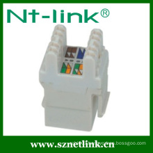Best Price RJ45 UTP Cat6 180 Degree Keystone Jack