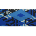 Polyester Printed Fabric with Knitted Fabric