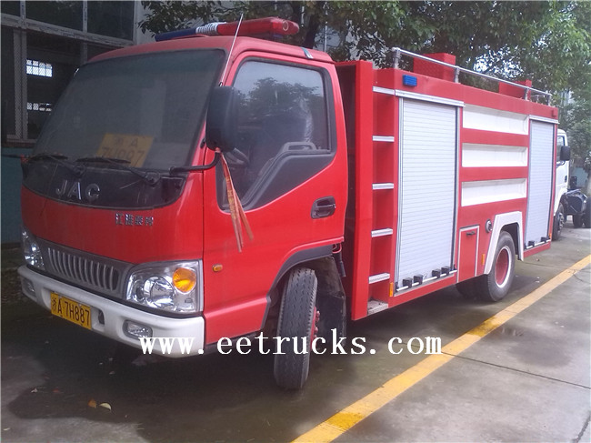 JAC Fire Vehicles