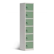 Armarios de caja de acero de 6 niveles