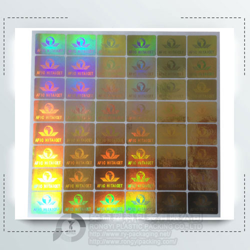 3D Hologram Label Sticker