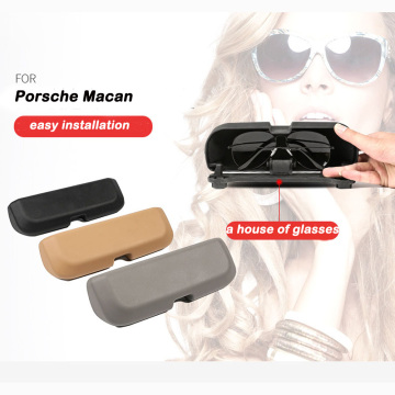 Vehicle Glasses Storage Box for Porsche Macan