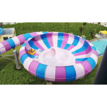 Aqua Park Equipment Fiber Glass Water Slide Adults Slide Super Bowl Slide