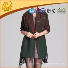 Mujer de seda viscosa mezclado pashmina shawl wrap