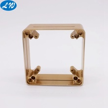 Kualitas tinggi CNC Machining Brass Watch Case
