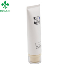 Envase de los cosméticos del tubo del cuidado de piel blanco de Custom120ml