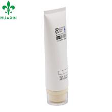 Recipiente cosmético branco dos cosméticos do tubo dos cuidados com a pele de Custom120ml