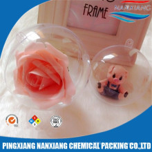 Openable transparent plastic ball,Hollow plastic balls