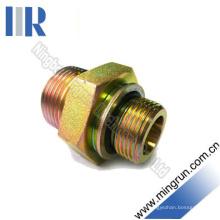 Adaptador de tubo de ajuste hidráulico Bsp macho / Bsp O-Ring (1BG)