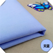 TC 45X45 133X94 Plain Woven Dyed Shirt Fabric