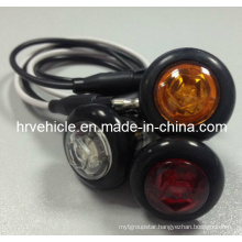 "0.75"" LED Oval Marker Clearance Side Lamp for Truck"