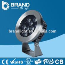Eclairage étanche étanche 306 en acier inoxydable 27W RGB, éclairage LED sous-marin à LED