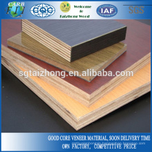 Wood Grain Melamine Coated Plywood For Desk