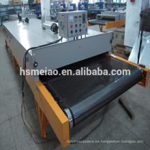 Profesional PTFE microondas equipo de secado de cinta transportadora