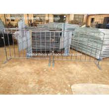 Barreras de control de multitudes de 4 pies x 6 pies