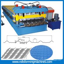 teja que forma la máquina azulejo esmaltado que forma la máquina que forma la máquina