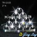 Rhinestone Crowns Tiara  TE-12133