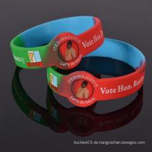Fabrik Großverkauf Giveaway Geschenke Silikon Wristband