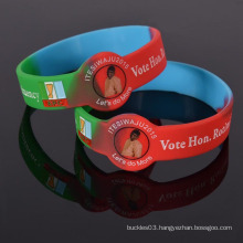 Factory Wholesales Giveaway Gifts silicone wristband