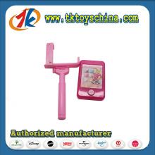 Мода Пластиковые мобильный телефон с Селфи игрушки для малышей
