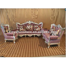 Conjunto de sofá de sala de estar de estilo francês europeu A10099