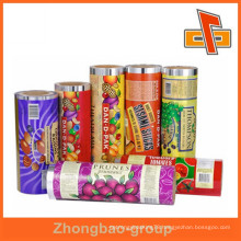 Nice printed laminated food packing plastic bag with high barrier in roll film or could be cut pieces