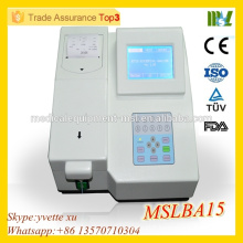 MSLBA15 Hot sale Best Price Semiautomatic biochemistry analyzer semi automatic chemistry analyzer
