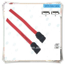 Premium red Sata data cable for HDD Hard Disk Drive Data Cable