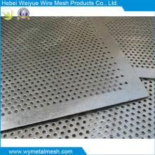 Maille perforée en métal d'acier inoxydable