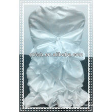 charming Taffeta ruffled chair cover for wedding,new style chair cover and table cloth