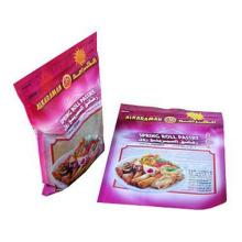Embalagens plásticas de alimentos congelados