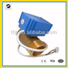 Válvula elétrica de 2 orifícios para o sistema de água quente solar