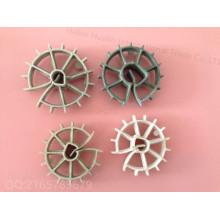Plasti Cwheel, Plastic Spacer Steel Bar Chair Betão Vertendo