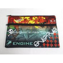 Fashionable Customized Full Color Neoprene Pencil Case for Children