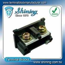 Parafuso de montagem de trilho DIN DIN TE-150 600V Gabinete de 150 ampères Conector de fio de PC