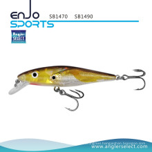 Angler Select Shallow School Fish Fishing Tackle Lure with Vmc Treble Hooks (SB1490)