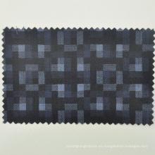 El diseño de la moda italiana azul Loro Cadini realzó la lana para la tela del sastre