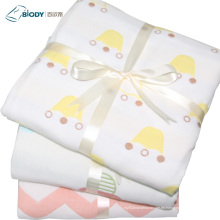 Edredón de algodón super suave Manta de múltiples capas para bebés cómodos