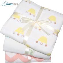 Cobertor Multilayer do bebê confortável super macio da edredão do algodão