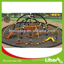 Große interessante Spielplätze Outdoor Spider Serie LE.ZZ.007