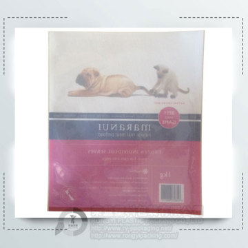Pet Food Plastic Packing Bag without Zipper