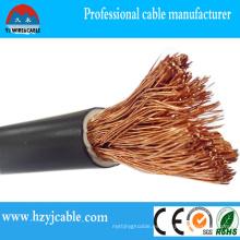 Especificaciones del cable de soldadura de PVC 16mm 25mm 35mm 50mm 7mm 95mm