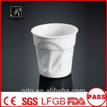 P & T Porzellan Fabrik liefern Keramik Tassen, Wasser Tassen, Servierbecher