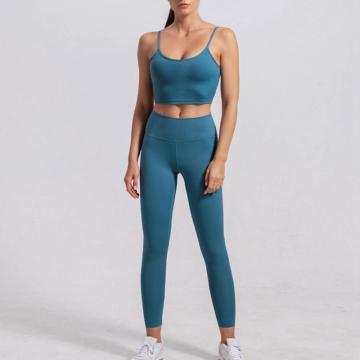 Fitness Yoga Bekleidung Damen Fitnessbekleidung Set