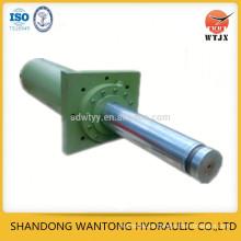 Montaje de la brida del cilindro hidráulico