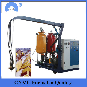 polyurethane filling machine for sandwich insulation panel