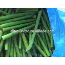Preço dos espargos verdes congelados da China