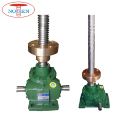 high quality screw jack with bronze traveling nut