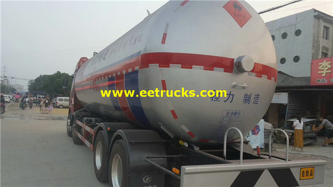 12 Wheel 36cbm Propane Transport Tankers